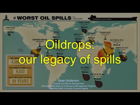 Oil Drops: Our Legacy of Oil Spills