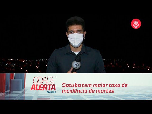 Satuba tem maior taxa de incidência de mortes por covid-19 em AL