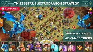 Th12 Electro dragon 3 Star war-attack strategy | DTB #28 | Clashman gaming