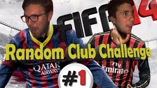 "Fifa 14 | Random Club Challenge+Download Rose Aggiornate | 01 ""Valangaaaa Granata"""