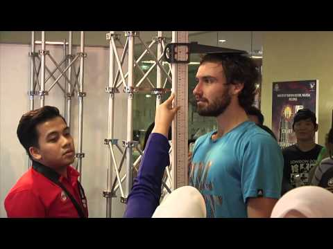 MOKL 2014 - Day 7 Ernests Gulbis Medical Check @ KPJ Booth