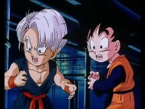 Vegeta And Trunks Funny