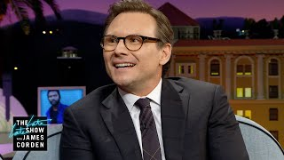 Parenting Has Changed for Christian Slater