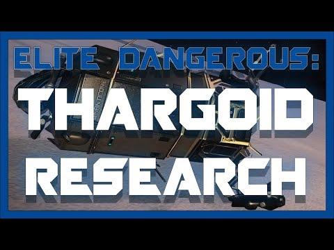 Thargoid Research - Elite: Dangerous 2.4.01