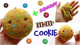 DIY M&M COOKIE SQUISHY ~ Homemade Squishy Tutorial