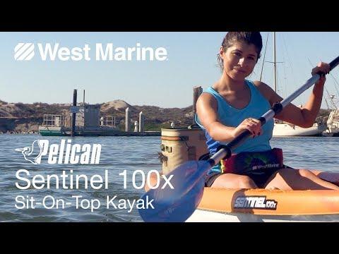 Pelican Sentinel 100x Sit-On-Top Kayak - West Marine Quick Look