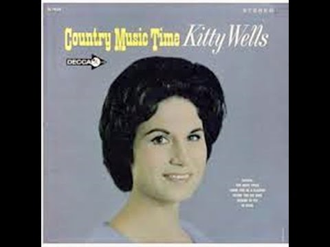 "Kitty Wells 1964 Album ""Country Music Time"" released on Decca Records."