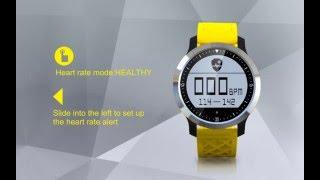 colmi f69 sport waterproof smart watch