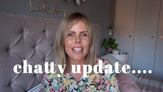 CHATTY UPDATE | LIFE, END OF AN ERA, GOALS, ROUTINE, WORK, FITNESS ETC