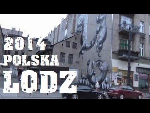#8 Lodz Лодзь - Polska Польша Poland / Travel Europe documentary / По Европе на авто