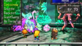 SaGa Frontier Game Sample - Playstation