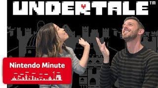 Playing Undertale on Nintendo Switch for the First Time - Nintendo Minute