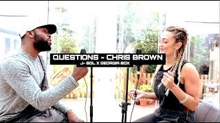 Questions X Turn Me On - Chris Brown & Kevin Lyttle (J-Sol & Georgia Box Cover)