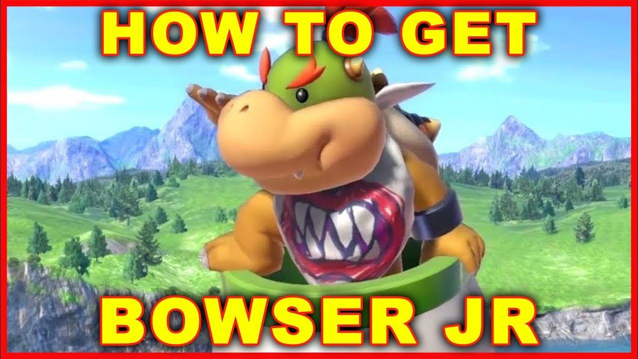 Super Smash Bros Ultimate How To Unlock Bowser Jr