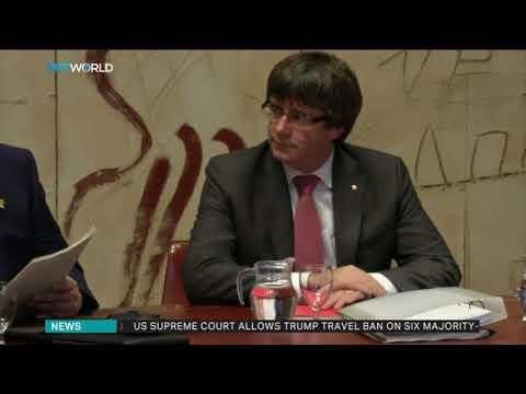 Spanish court withdraws European arrest warrant for ex-Catalan leader