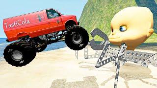 EXTREME Cars Jumps & Crashes #52 BeamNG Drive   Random Vehicles Crashes Compilation