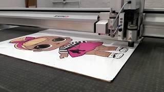видео: Цифровая лазерная плоттерная резка и гравировка фанеры, дерева, картона, композитов, металла, пласти
