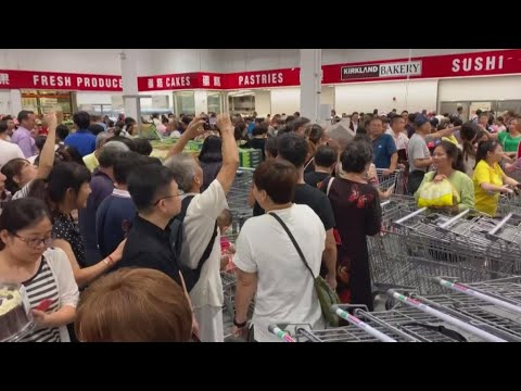 Monica Lowe  - Costco opens in China. Chaos ensues.