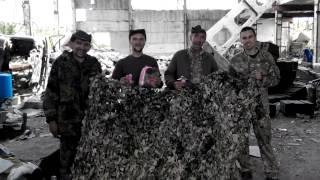 Handmade Military Camouflage Volunteer Center