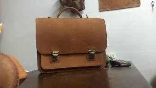 Купить мужской портфель. Classic bag - элитные кожаные изделия!(, 2016-10-02T12:10:26.000Z)