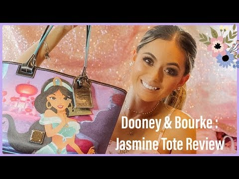 Dooney & Bourke: Jasmine Tote REVIEW ∣ Disney ∣