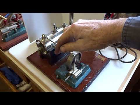 Flea Market Find:  Jensen #5 Riveted Boiler Steam Engine