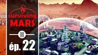 [FR PC] Surviving Mars Gameplay ép 22 – Construire une colonie martienne (let's play complet)