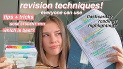 How to revise for exams effectively | 10 Revision techniques that actually work!