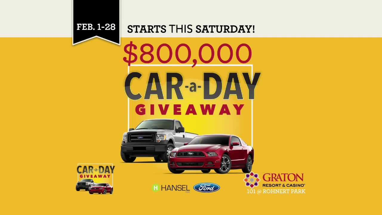 car a day giveaway