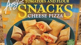 Amy's Snacks: Cheese Pizza Food Review