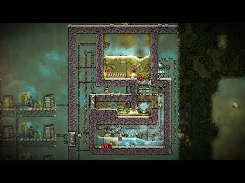 Water Purification Plant Experiment! - Oxygen Not Included Outbreak