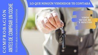 comprobación antes de comprar un coche, para saber si consume aceite GRAN CONSEJO!!