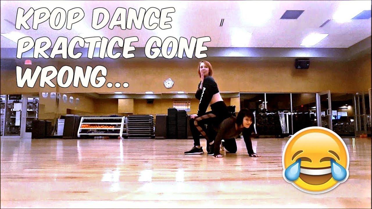 KPOP DANCE PRACTICE GONE WRONG.. - YouTube