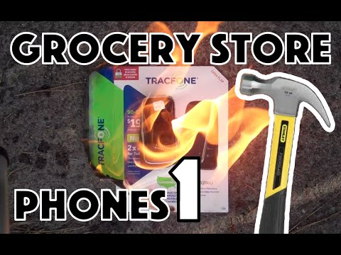 Bored Smashing - GROCERY STORE PHONES! Episode 1