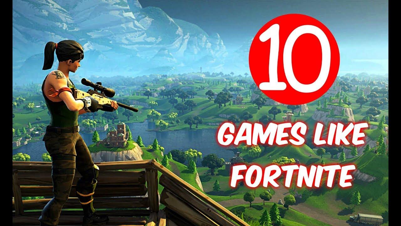 Top 10 Games Like Fortnite - Battle Royale Games - YouTube