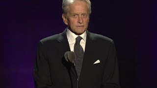 Michael Douglas celebrates dad's 100th