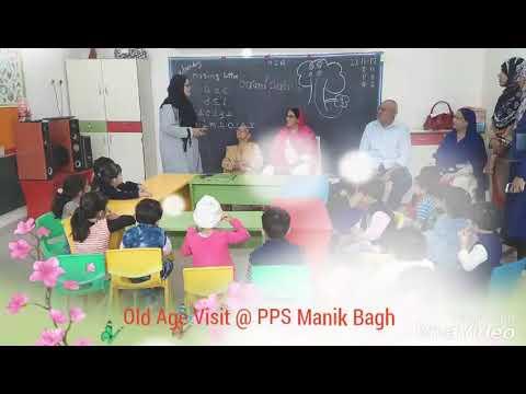 Old Age Visit @ Pakiza Play School Manik Bagh