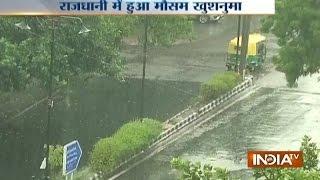 Pre-monsoon Shower Hits Delhi-NCR, Brings Down Temperature