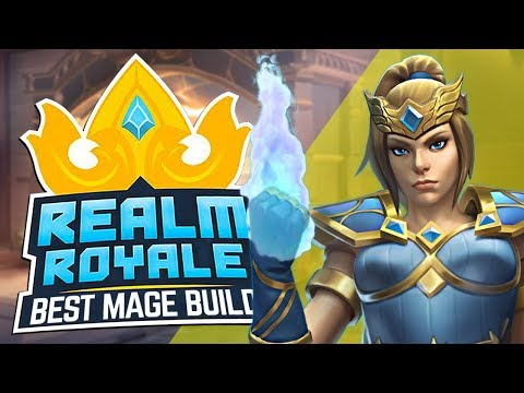 Best Mage Build in Realm Royale! Killing Frost is GOOD!