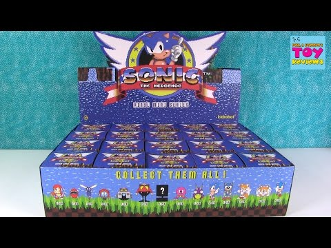 Sonic The Hedgehog Vinyl Mini Series Full Case Unboxing Chase Figure | PSToyReviews