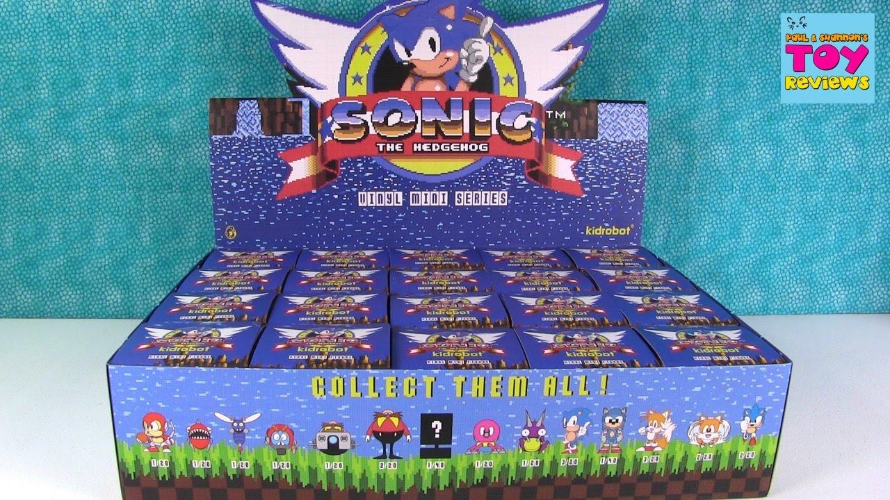 💚 Игрушки Супер Соник Обзор / Sonic Hedgehog Figure and Deadpool .