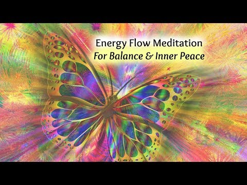 Positive Energy Meditation (Guided) for Balance & Inner Peace {Infused with Reiki Energy}