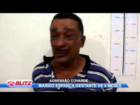 AGRESSAO COVARDE | MARIDO ESPANCA GESTANTE