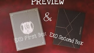 EXO First Box & EXO Second Box ( bahasa Indonesia )