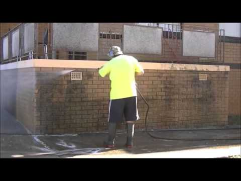 High Pressure Cleaning -  Moss & Algae Removal from Brickwork