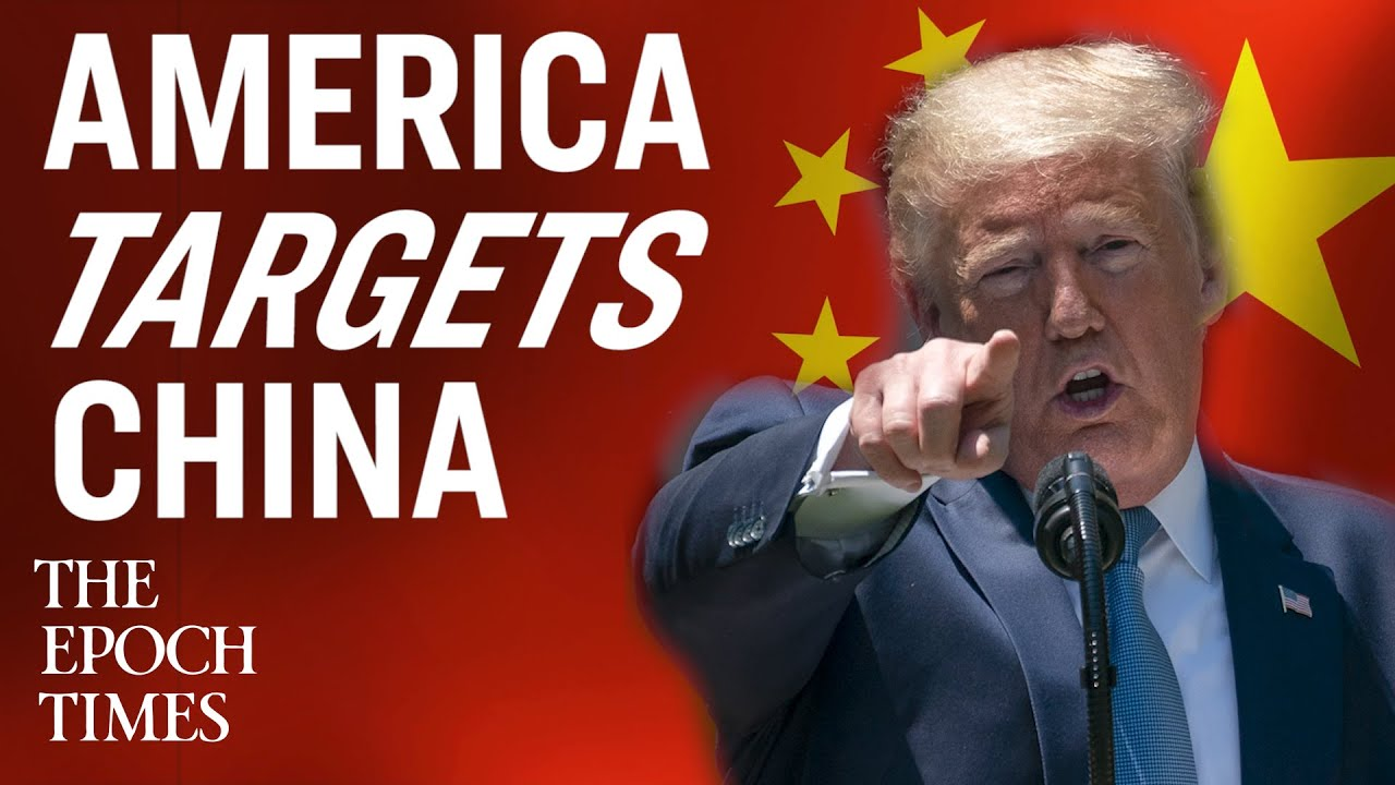 America Steps Up Confrontation with China