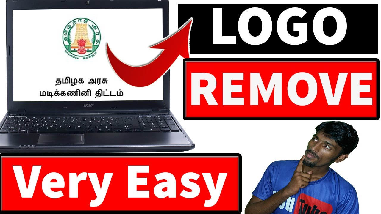 How To Remove Government Laptop Logo acer/lenovo | Tamil What Happened Next