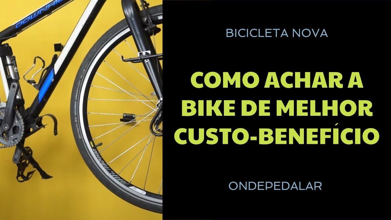 Como achar a Bicicleta com o melhor custo benefício