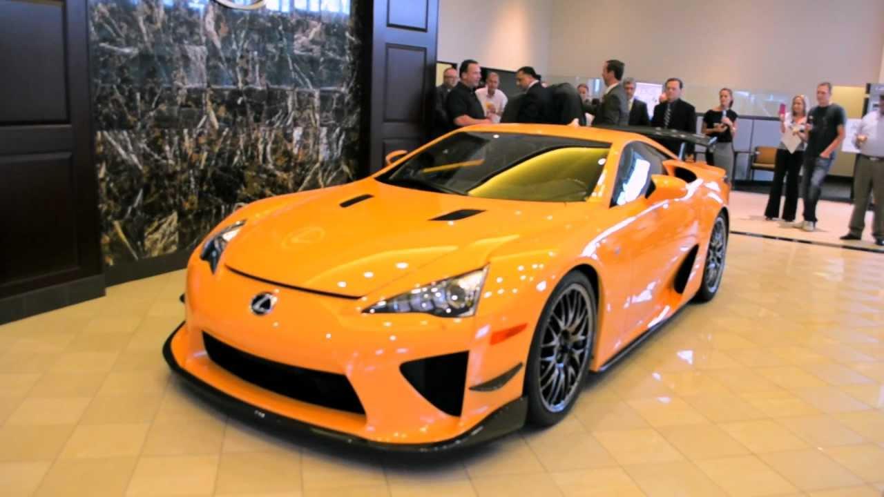 Balise Lexus Lfa Nurburgring Edition Unveiling Hd Youtube