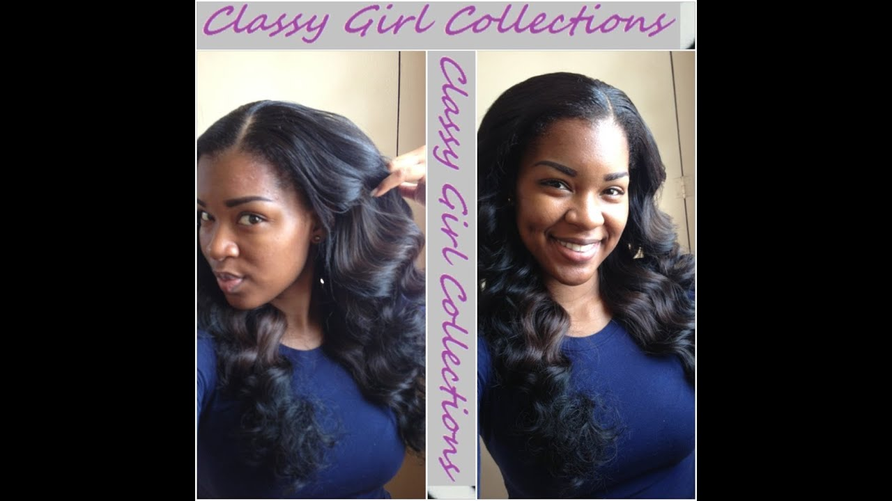 |ClassyGirlHair| How To Get Loose Curls With Wand - YouTube  |ClassyGirlHair...